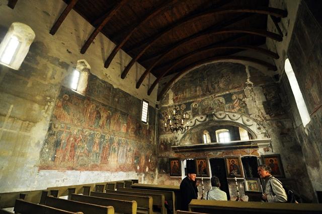 Biserica de zid / Sursa foto; Florian-Rareș Tileagă