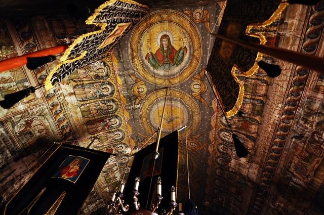 Interior, la Goiești / Sursa foto: Florian-Rareș Tileagă
