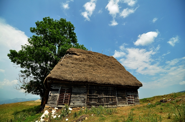 Construcție străveche, în Munții Apuseni (nu este locuința la care se referă articolul) / Sursa foto: Florian-Rareș Tileagă