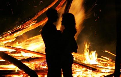 Foc de tabara si dragoste pe munte, la Târgul de Fete / Sursa foto: Mihai Lazăr
