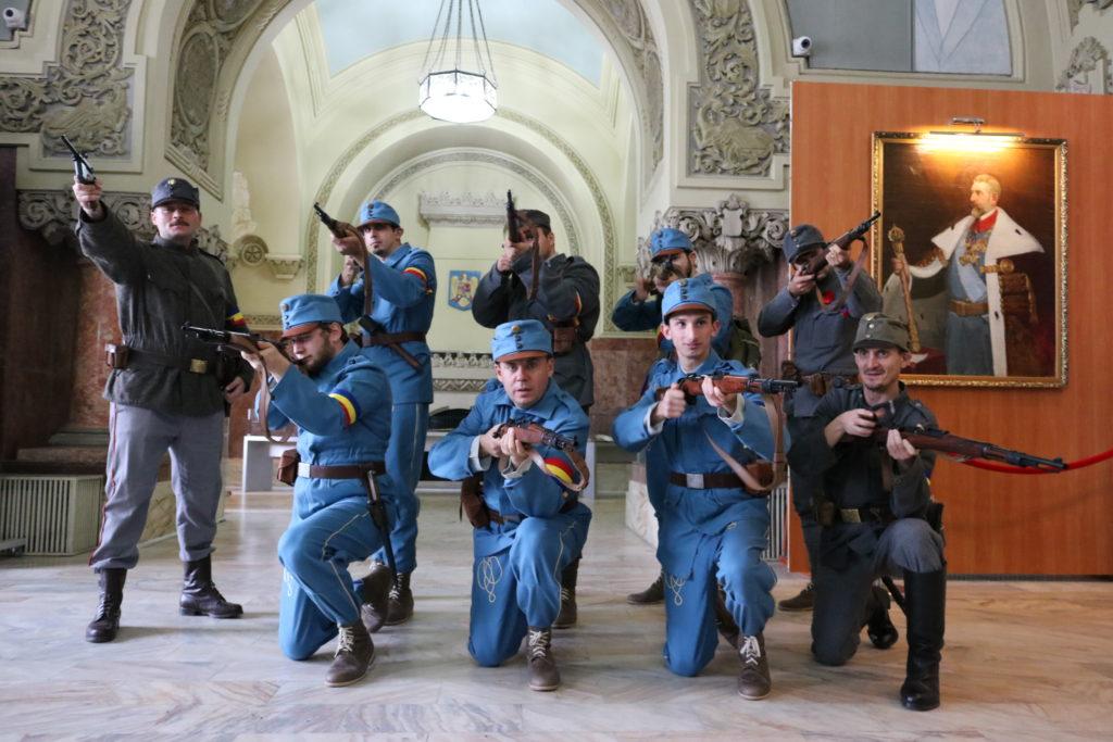 Garda Națională de la Alba Iulia/Foto: Nicu Neag