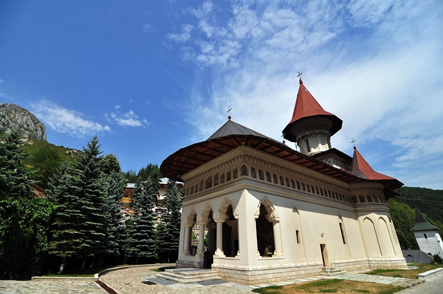 Biserica nouă a mănăstirii Rîmeț / Sursă foto: Florian-Rareș Tileagă