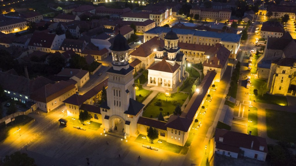 Catedrala Încoronării/Foto: www.albaiuliaqr.ro