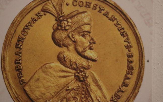 Medalia de aur bătută în monetăria de la Alba Iulia