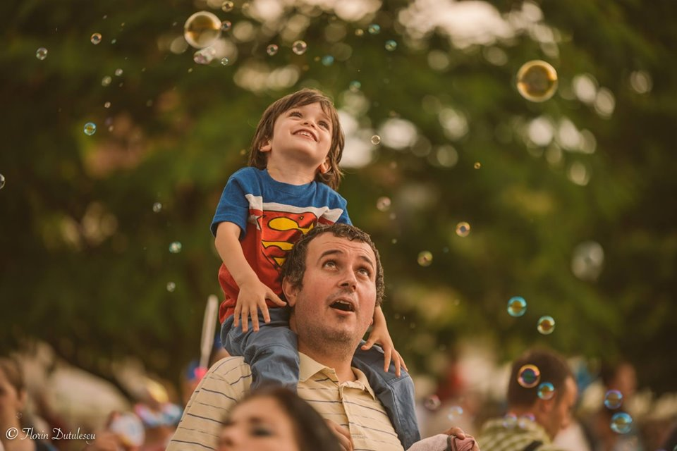 Atmosferă la Bubble Parade Alba Iulia 1